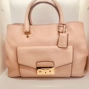 Michael Kors Pretty Pink Leather Purse